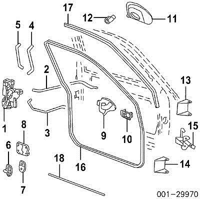 Chevrolet Trailblazer Door Latch Parts on electrical box hinges
