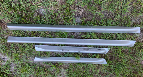 Audi C5 A6 Allroad OEM Lower Door Blades Molding Set Chrome