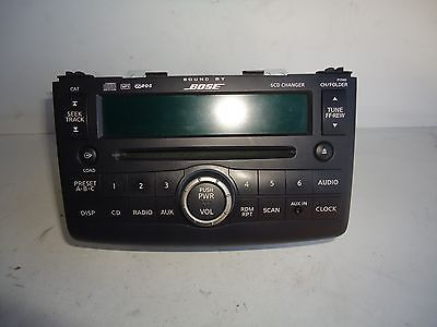 08 09 Nissan Rogue AM FM 6 Disc CD Player Radio Stereo Bose OEM 28185 JM200