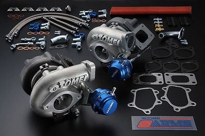 Tomei Arms M8260 Turbo Kit for Nissan Skyline RB26DETT (650HP)