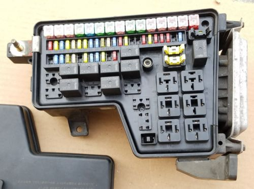 Used Dodge Ram Fuse Box : Dodge ram integrated power module fuse box bcm