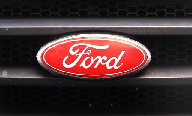 Ford F  Without Cam Vinyl Decal Red Grill Rear Emblem