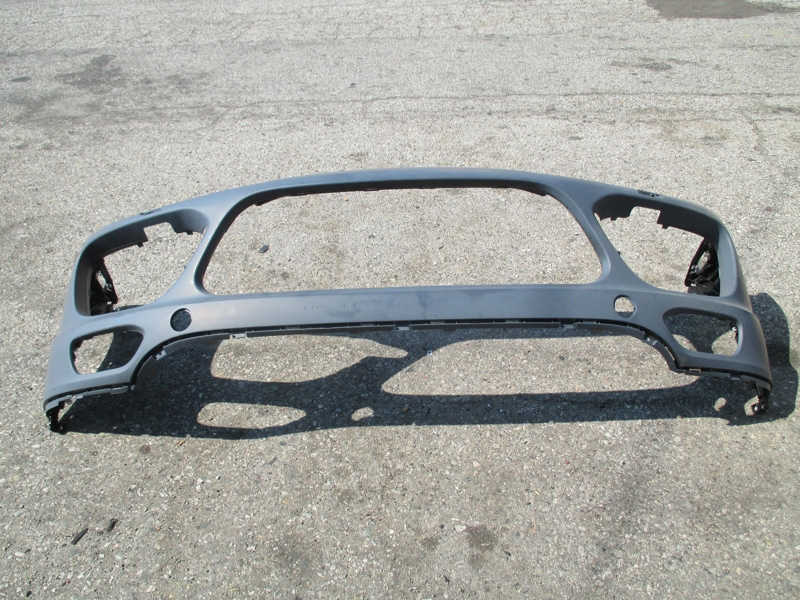 2011-2014 PORSCHE CAYENNE TURBO FRONT BUMPER FOR HEADWASHERS OEM