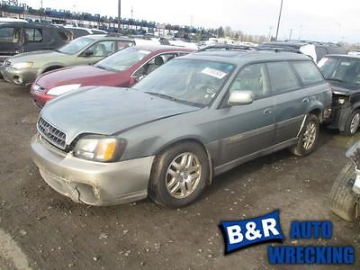 PASSENGER RIGHT HEADLIGHT OUTBACK FITS 00-04 LEGACY 9931165 114-58605R 9931165