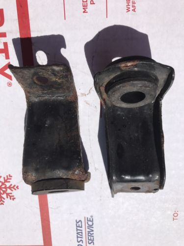 01-05 <em>HONDA</em> <em>CIVIC</em> 4 DOOR FRONT RADIATOR MOUNTING BRACKETS HOLDER OEM