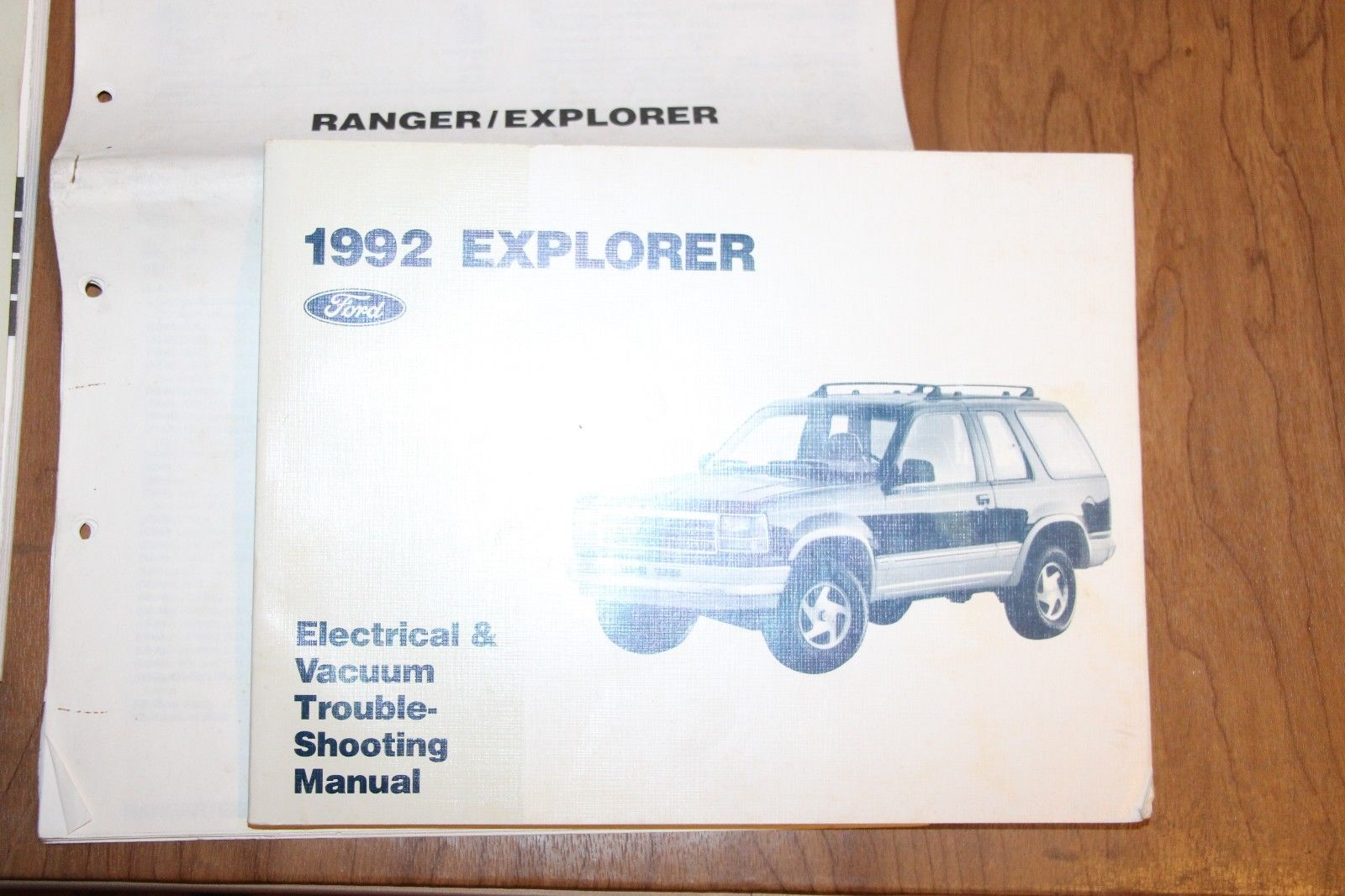 Set 3 Books 1992 Ford Ranger Explorer Aerostar Service Manual Wiring Electrical