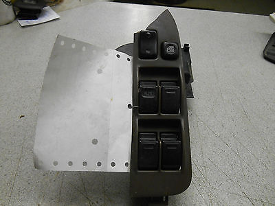 Master Power Window Switch LH 1996 Toyota Corolla, 4 door, brown