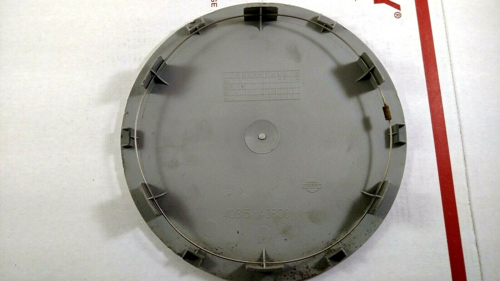89-94 Nissan 240SX or Maxima OEM Wheel Center Hub Cap Cover Factory Disc GXE Does not apply