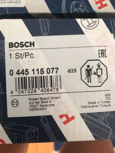 Diesel Fuel Injector(New) Bosch 13 53 7 808 089 BMW Bosch 0445115077 Does not apply