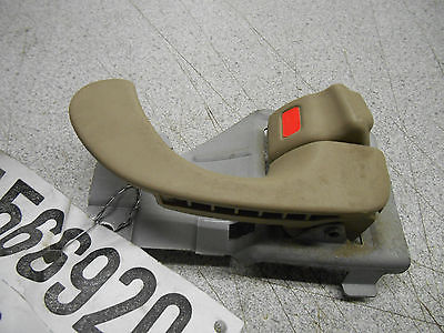 Inside Door Handle RH 2001 Mitsubishi Galant, tan