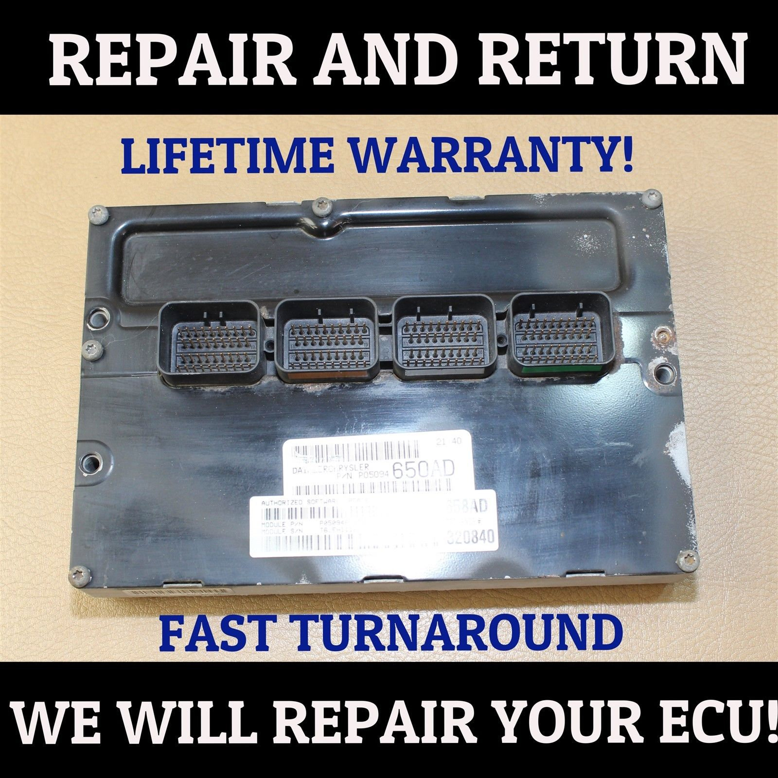 *REPAIR SERVICE* 12 <em>DODGE</em> <em>RAM</em> <em>1500</em> 2500 3500 5.7L ECU ECM PCM ENGINE COMPUTER