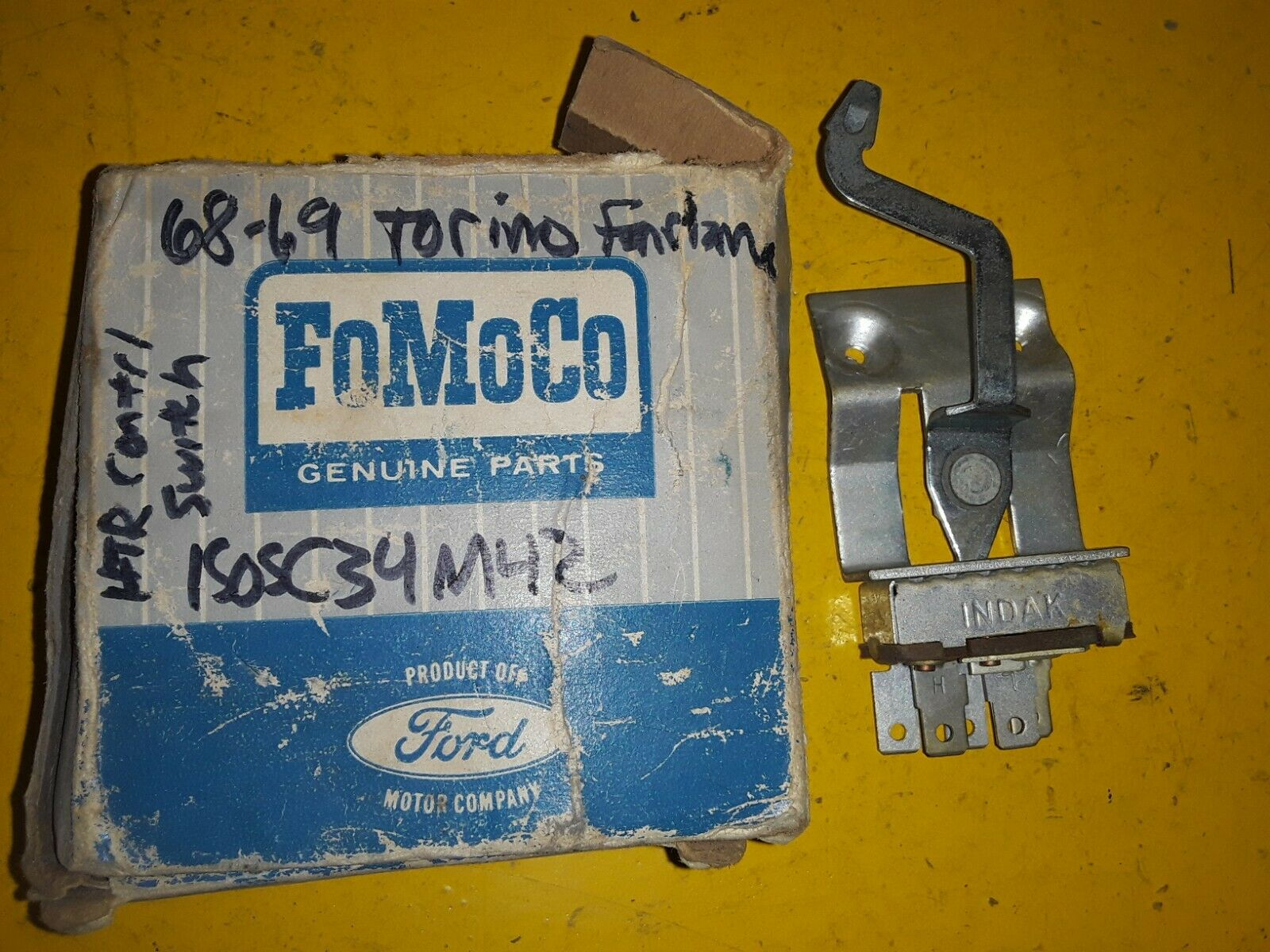 1968-69 FAIRLANE all models FORD / INDAK Heater Switch C80Z-18578-A C8OZ-18578-A