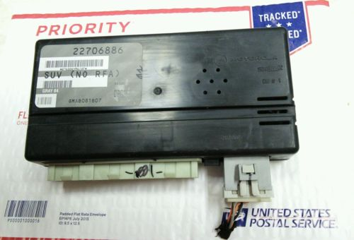 2003 Saturn Vue Bcm Multifunction Computer Body Control Module 22706886