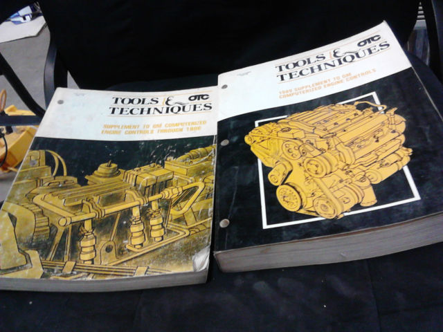 1989 Tools & Techniques OTC Supplement To GM Controls Good Condition