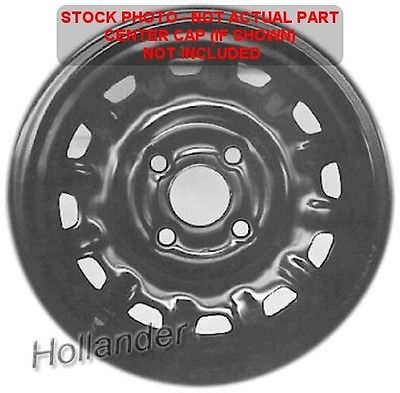 1987 <em>HONDA</em> <em>ACCORD</em> <em>WHEEL</em> <em>RIM</em> 13x5 STEEL 1711568
