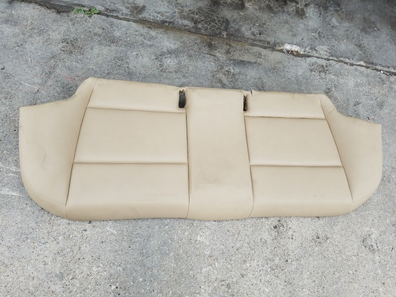 2006-2008 BMW E90 325i 328i 330i 335i REAR LOWER SEAT BOTTOM CUSHION LEATHER