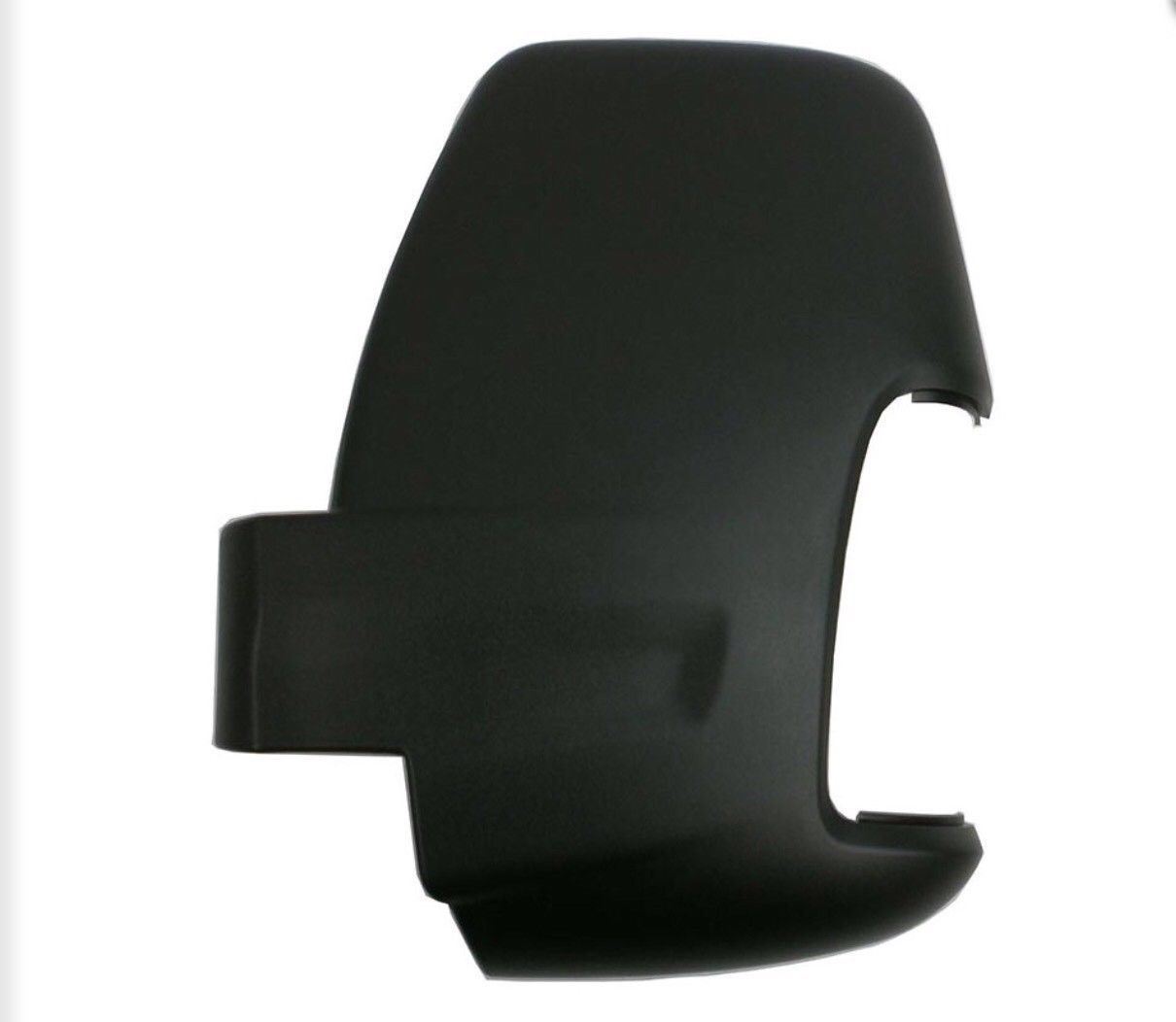 Ford Transit MK8 Door Wing Mirror Black Cover Casing Left NS 2014 2017 LL01-60-016 Black cover L