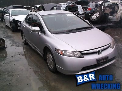 06 07 08 HONDA CIVIC BRAKE MASTER CYL SDN 1.3L MX HYBRID 8603255 8603255