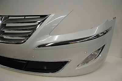 2012 2013 2014 hyundai genesis sedan front bumper cover w. Black Bedroom Furniture Sets. Home Design Ideas