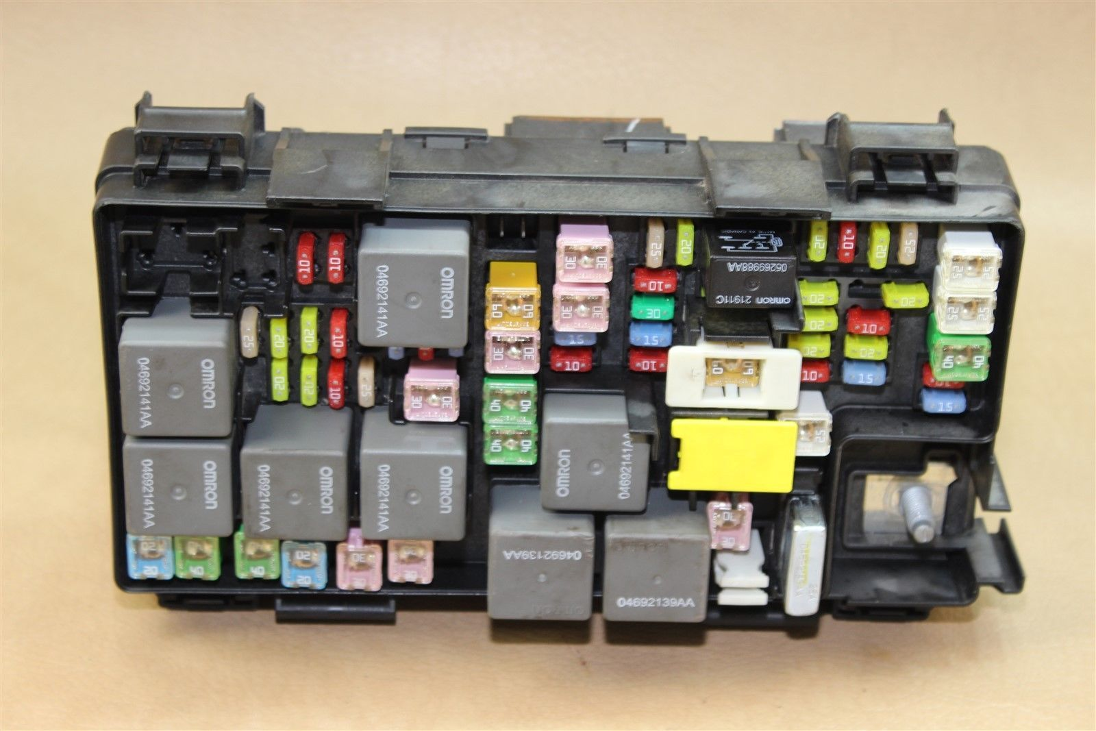 Rebuilt 09 Liberty Nitro Tipm Temic Integrated Power Module Fuse Box Dodge 04692300ab Does Not Apply 1420