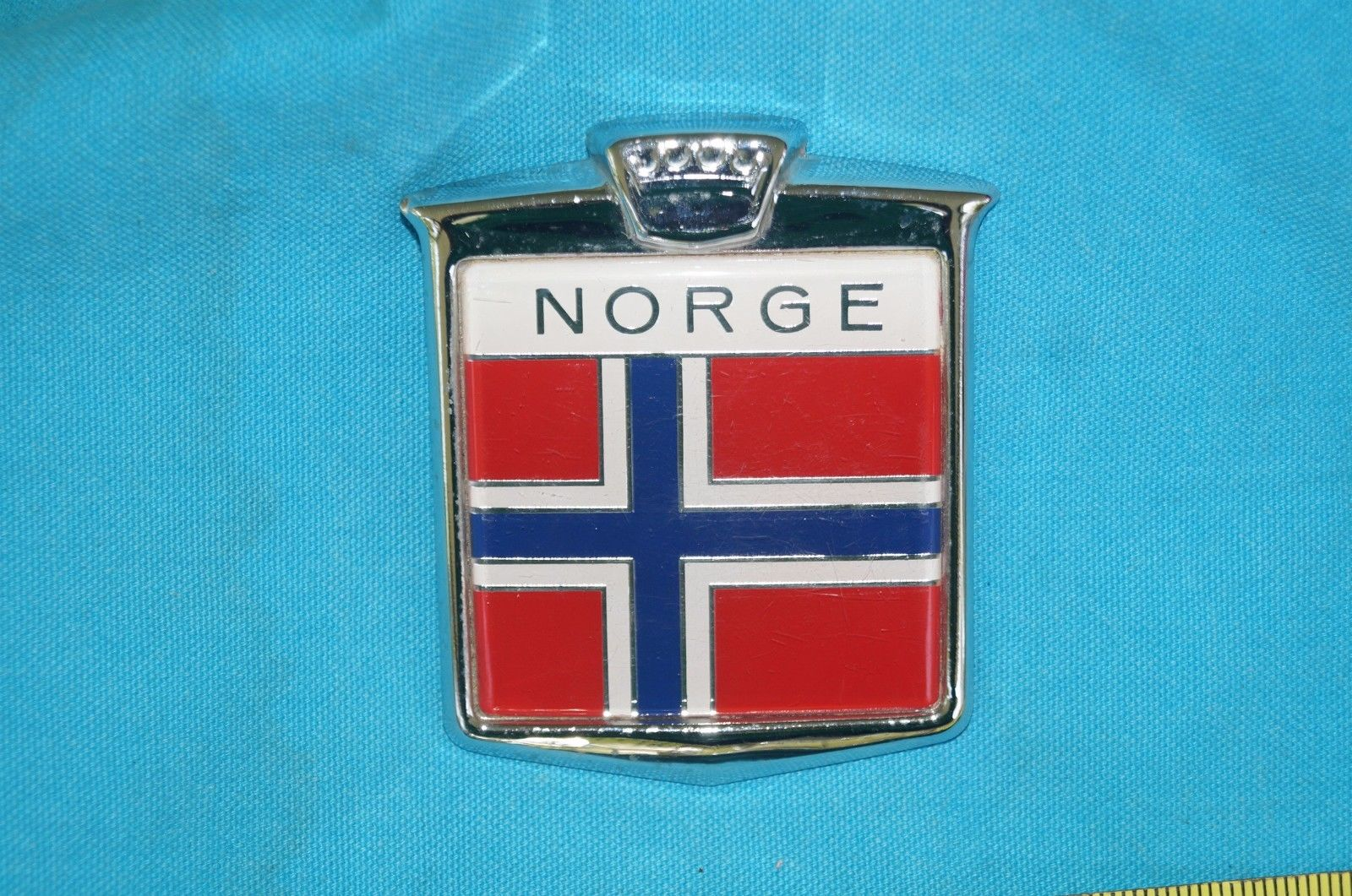 NORGE BADGE EMBLEM Ornament  3 inches