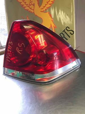 Tail Light Assy CHEVY IMPALA Passenger Right 06 07 08 09 10 11 12 13 14 15 16 Does not apply 7C8D94D1-6BFE-4D9A-AEE6-B7B3068F325E
