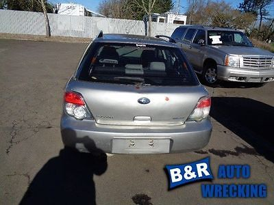 05 06 07 IMPREZA POWER BRAKE BOOSTER 2.5L BASE OUTBACK THRU 7/10/06 8782896 8782896