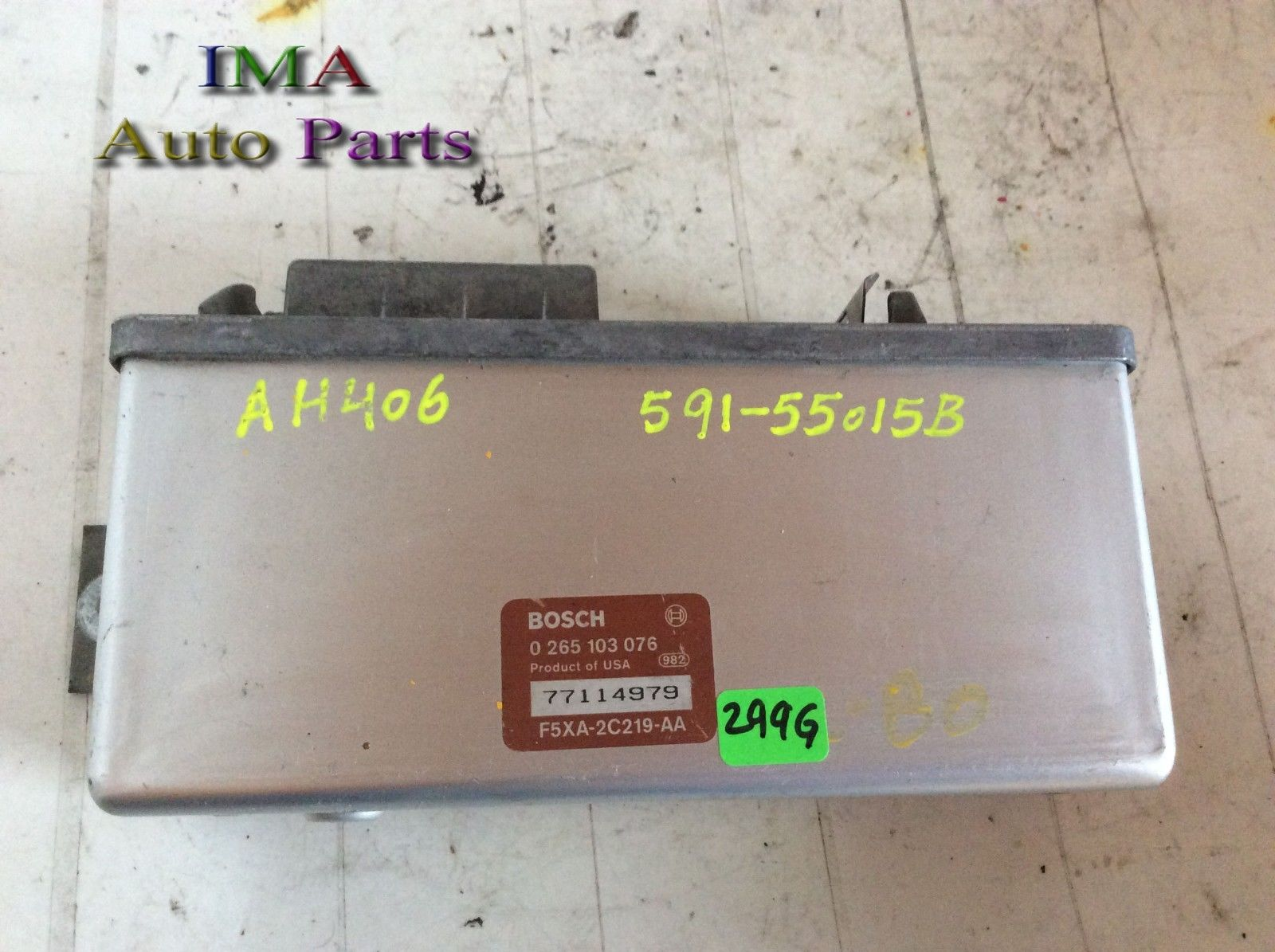 1998 MERCURY VILLAGER ABS CONTROL MODULE GENUINE F5XA-2C219-AA 0 265 103 076