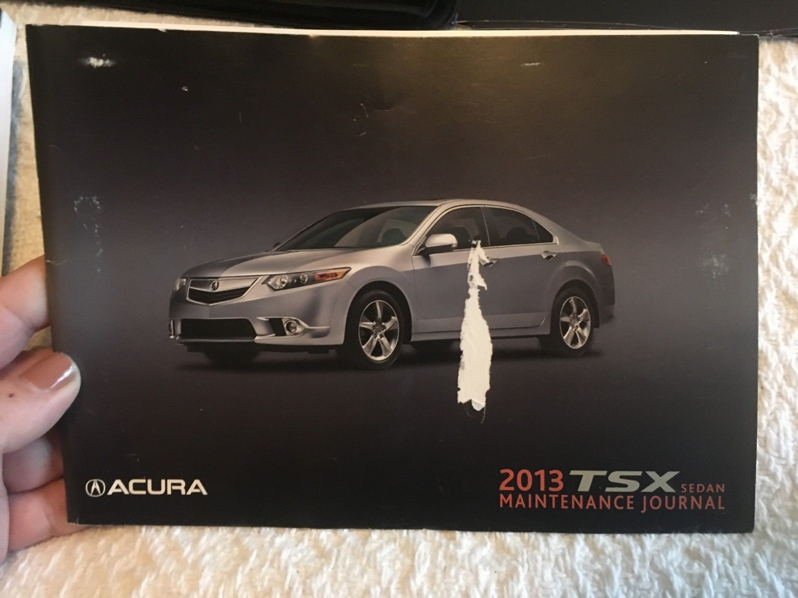 EUC 2013 Acura TSX Sedan Owners Manuals with Case