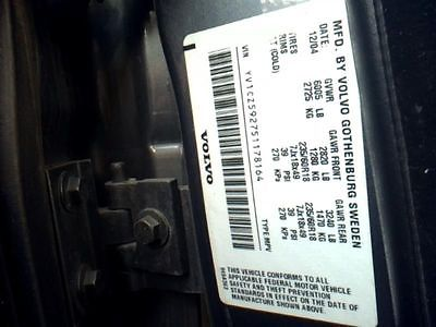 05 06 07 VOLVO XC90 ENGINE ECM ELECTRONIC CONTROL MODULE 5 AND 6 CYL 8954264 590-50459 8954264
