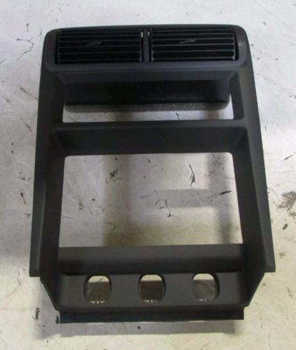 Mustang: Ford A/C & Radio Control Bezel (2001-2004 All) 3R3Z6304338BAE