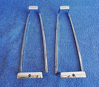 Original OEM 77 Deville & Fleetwood Chrome Tail Light Assembly Molding Frames