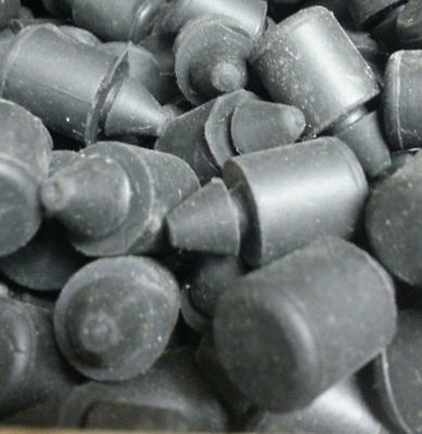 # 4079 Pack of 10 rubber button Bumpers A=1/2, B=29/32, C=1/4, D=23/64, E=9/16 4079