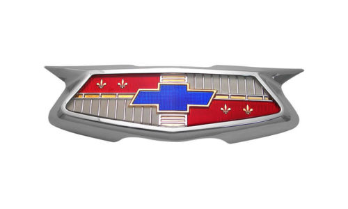 1954 Chevrolet Full Size Trunk Emblem Assembly With Hardware - US Made