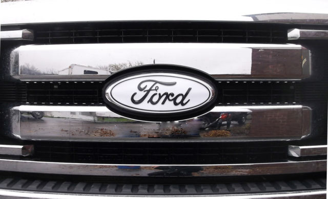 Ford Edge Cut Vinyl Decal White Grill Emblem Wrap Decal Fits