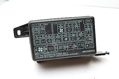 1999 mitsubishi montero sport fuse box location wiring circuit u2022 rh ericruizgarcia co 2001 Mitsubishi Mirage Fuse Box Diagram 2001 Mitsubishi Mirage Fuse Box Diagram
