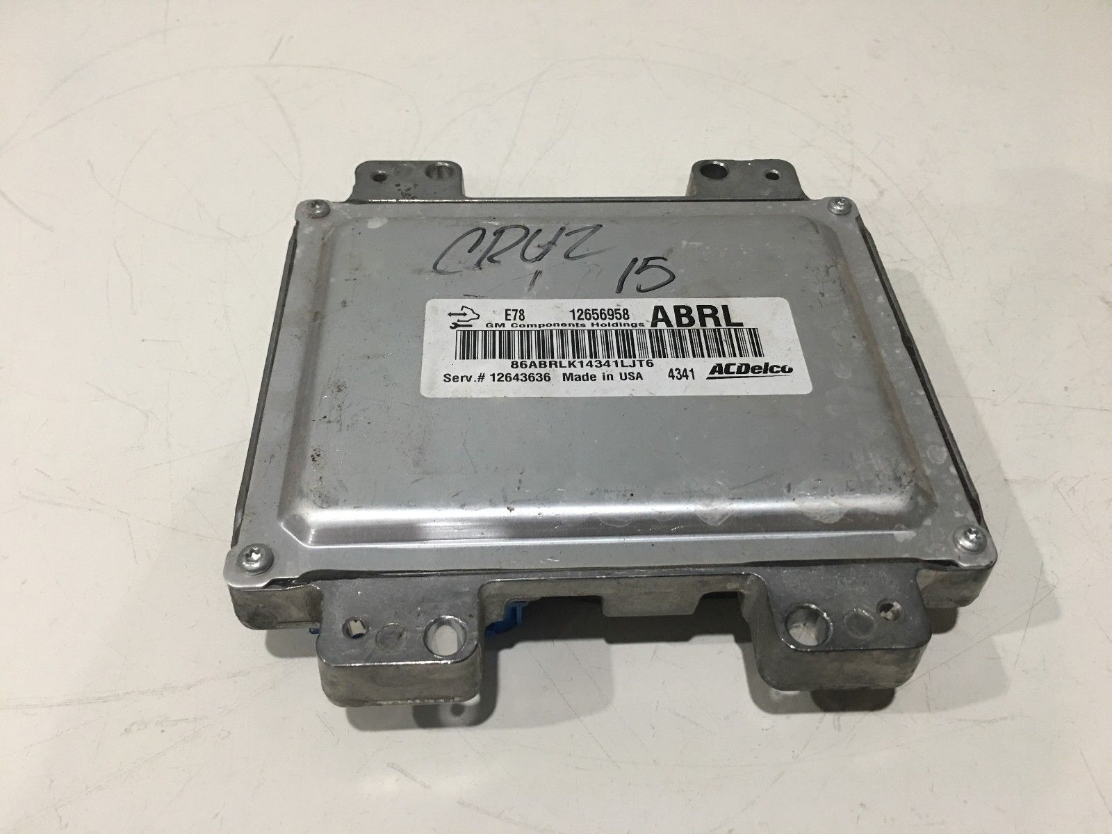 2012 Chevy Cruze Engine Computer Ecu Ecm