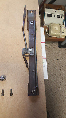 Original 76-78 C3 Corvette Seat Tracks w/Knob + Bolts Fits Both Driver/Passenger Does not apply