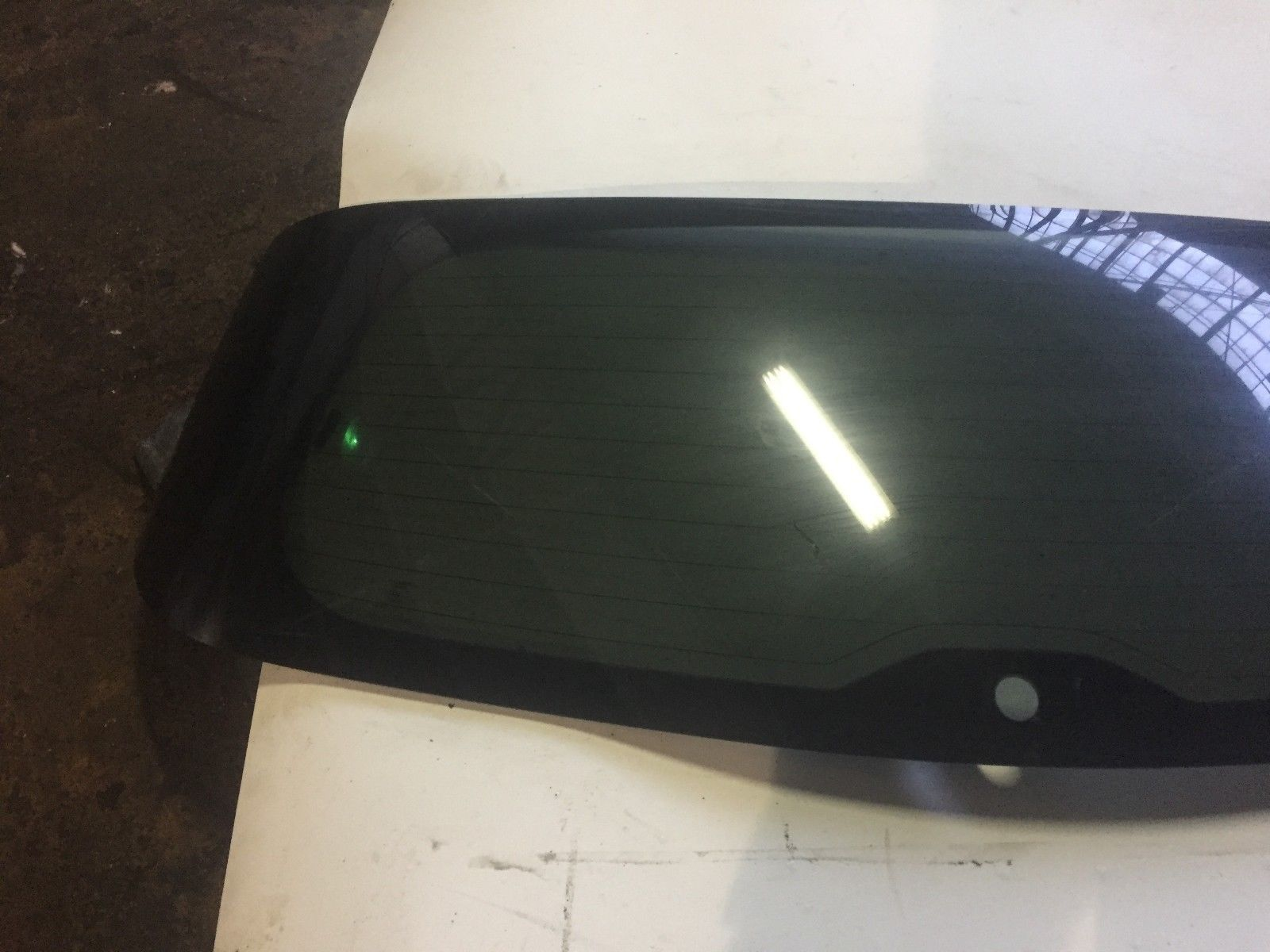 2007 Acura MDX Rear Back Glass Original OEM