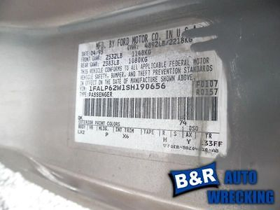 94 95 FORD MUSTANG AC CONDENSER 6 CYL 9211490 679-00739 9211490