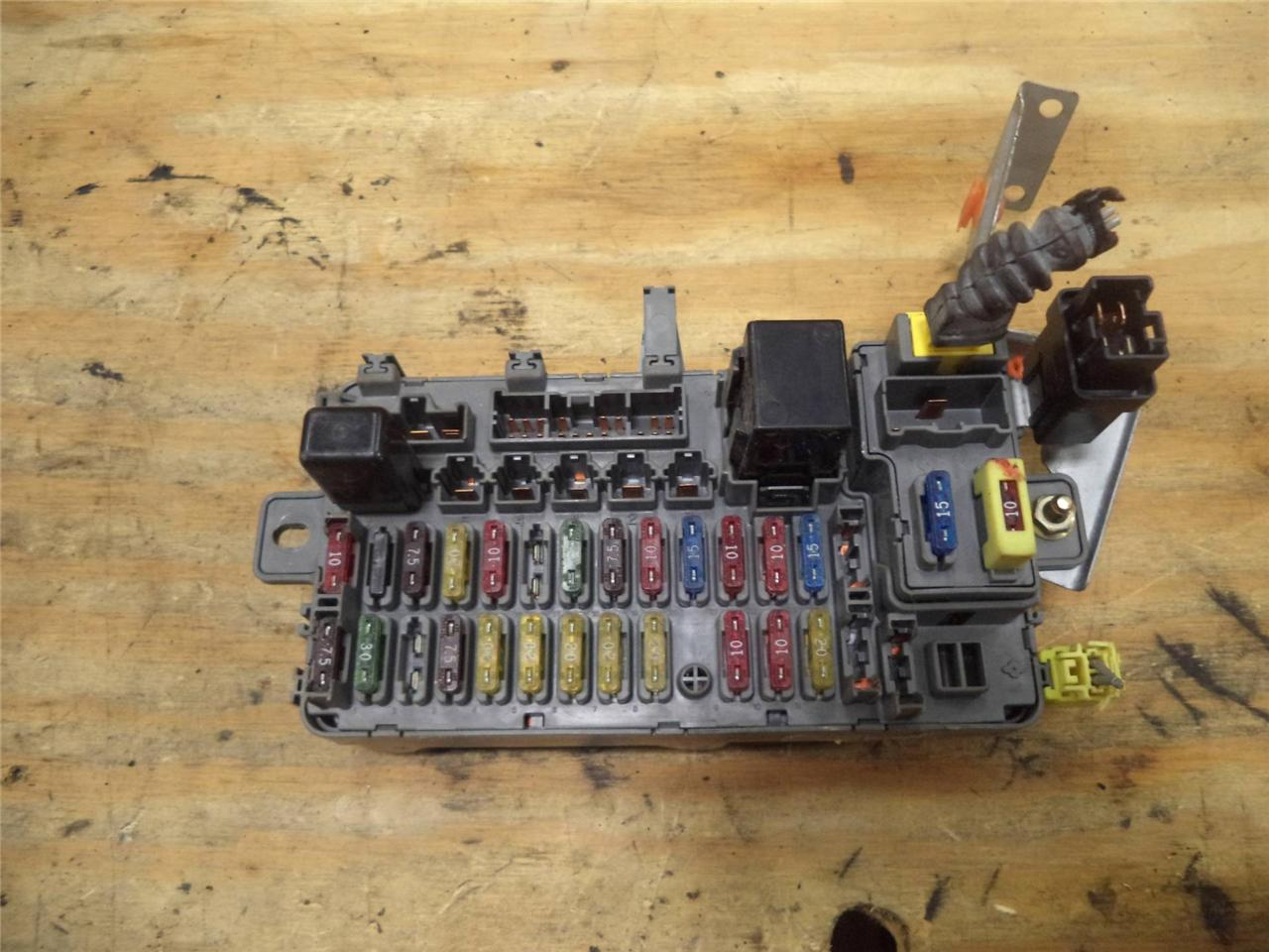 93 Civic Fuse Box Trusted Schematics Diagram 94 Accord 95 Honda Under Dash W Relay Multifunction