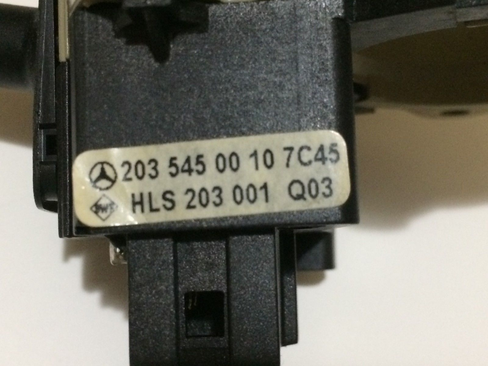 01 02 03 MERCEDES BENZ C320 TURN SIGNAL WINDSHIELD WIPER SWITCH OEM 2035450010 2035450010