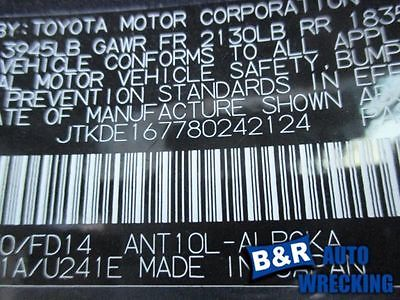 07 08 SCION TC ENGINE ECM ELECTRONIC CONTROL MODULE FROM 4/07 AT 8290691 8290691