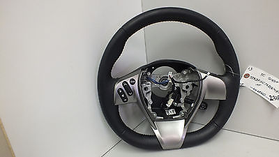 2013 SCION TC LEATHER STEERING WHEEL #231A