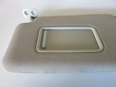 07 12 Nissan Versa Left Driver Side Interior Sun Visor