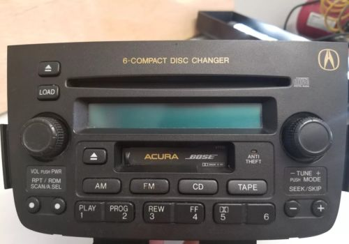 01 02 03 04 2001 2002-2004 Acura MDX Radio Cassette 6 Disc CD Changer Player OEM 39100-S3V-A320