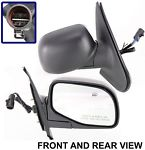 NEW Side View Door Mirror Right Passenger Kool-Vue Brand FD35ER