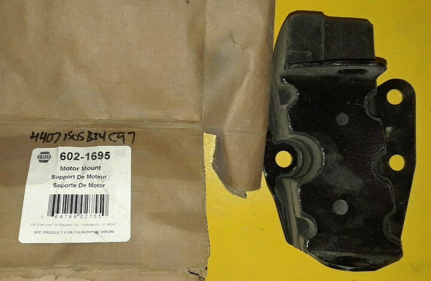 NAPA Engine MOTOR Mount 602-1695 / EM-2723 NEW IN BOX