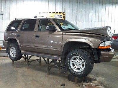 2001 DODGE DURANGO STEERING COLUMN 2741068