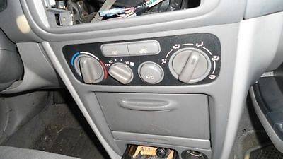 01 02 TOYOTA COROLLA Heater/Temperature Controls With AC 3483368
